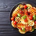 Kuřecí filety grilované se zeleninou
