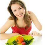 hubnutí a dieta - žena
