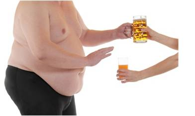 Obezita - muž