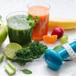 Ovocie, zelenina, dzus, smoothie a cinka