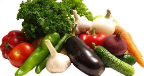 bio produkt zelenina