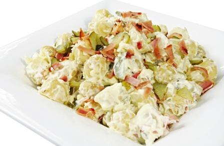 bramborový salát recepty hubnutí