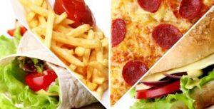 fast food jedlo