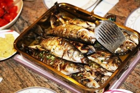 grilovana makrela