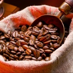 káva, zrnká kávy