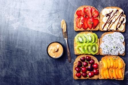 letni sendvice s ovocim