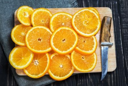 pomeranc platky