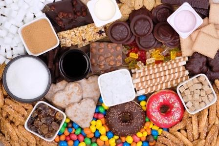 potraviny obsahujici cukr