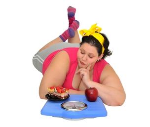 tlustá žena - hubnutí