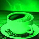 zelená-káva